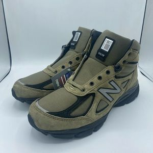 New Balance 990V4 Mid Olive Made In USA